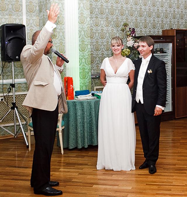 Ведущий, тамада на свадьбу, юбилей Александр Илизаров